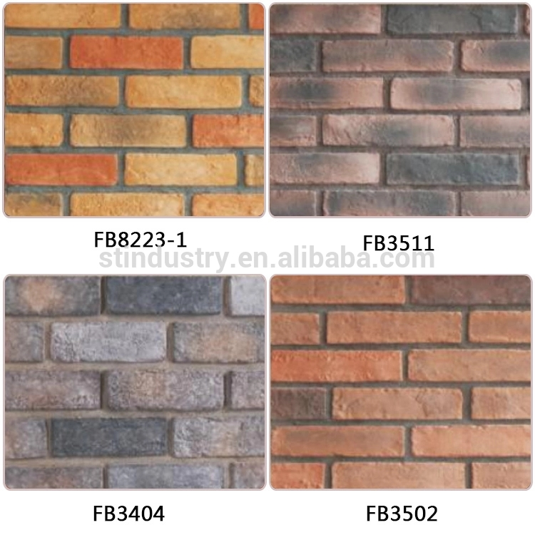 China manufacturer exterior white faux brick wall panels